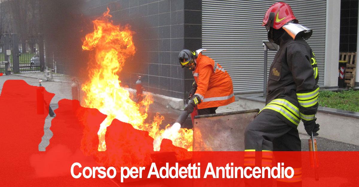 Corso antincendio Bergamo