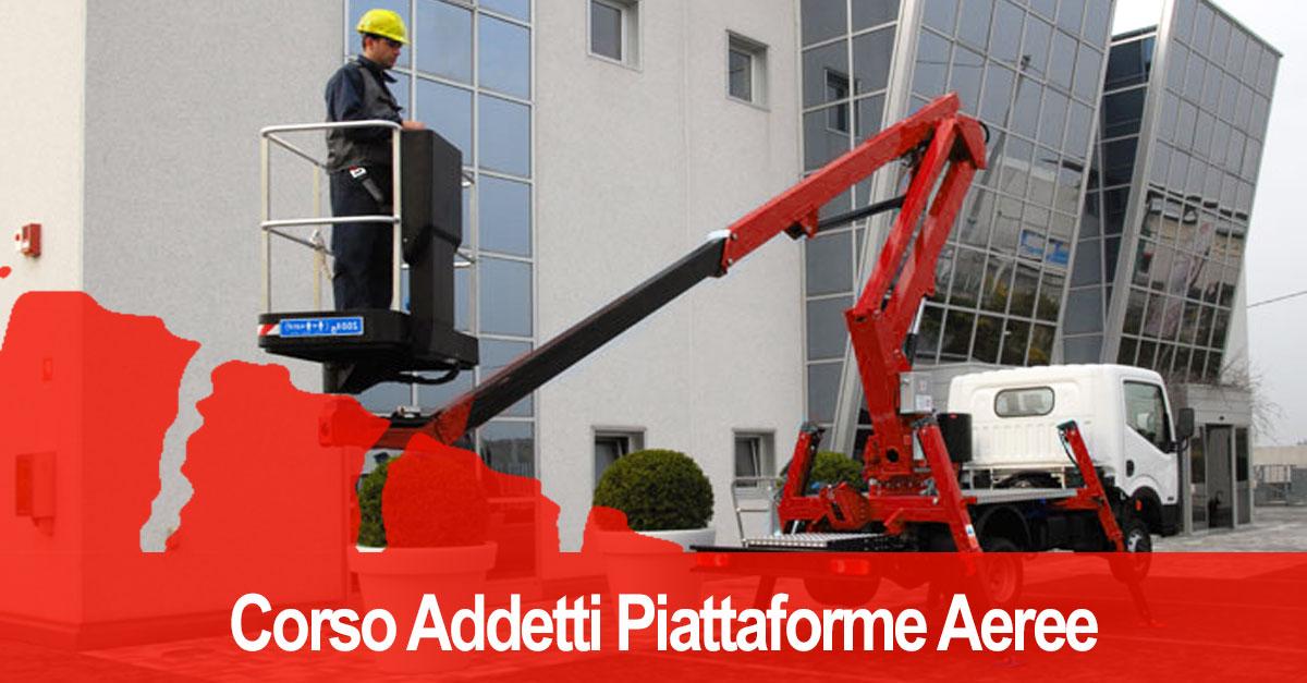 Corso Piattaforme Aeree Cestello Patentino Bergamo | RossoFormazione